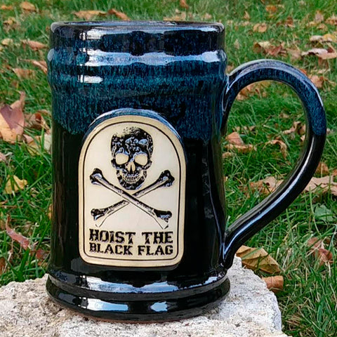 Hoist The Black Flag Stoneware Mug