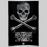 Hoist The Black Flag Wall Tapestry
