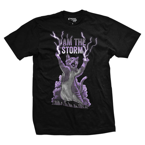 I Am The Storm Cat T-Shirt
