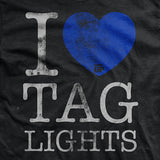 I Heart Tag Lights T-Shirt