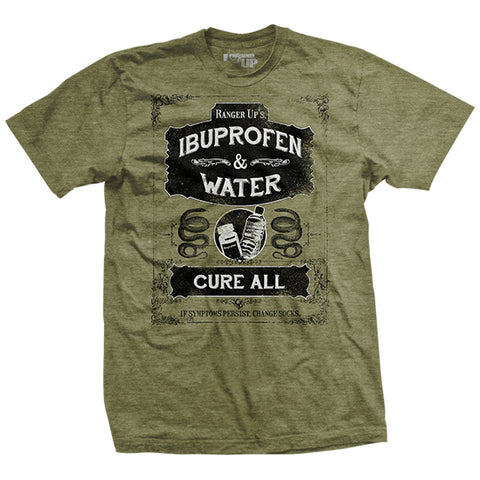 Ibuprofen and Water Cure-All Ultra-Thin T-Shirt