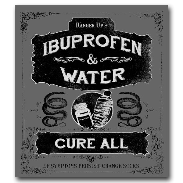 Ibuprofen & Water Sticker