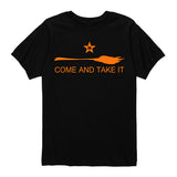 Kids Halloween - Come And Take It Broom Shirt