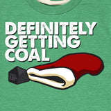Kid's Definitely Getting Coal T-Shirt