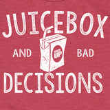 Kids Juice Box and Bad Decisions T-Shirt