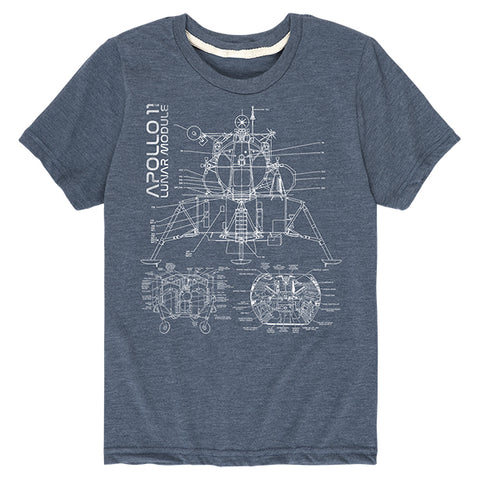 Kid's NASA Apollo 11 Lunar Module T-Shirt
