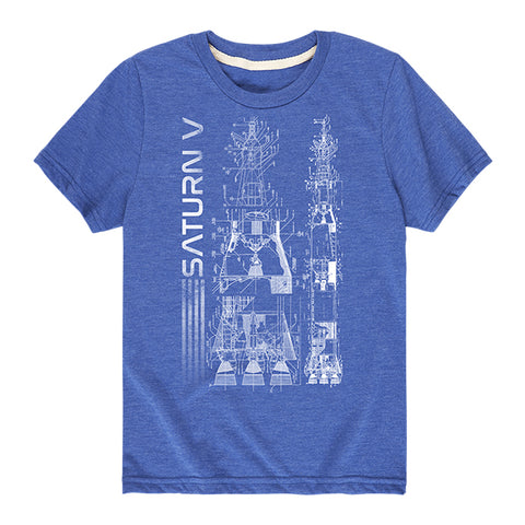 Kid's NASA Saturn V T-Shirt