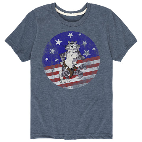 Kids Tomcat Patch T-Shirt