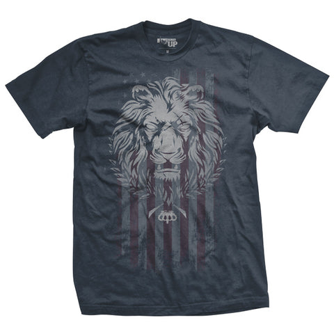 Live As a Lion Ultra-Thin Vintage T-Shirt