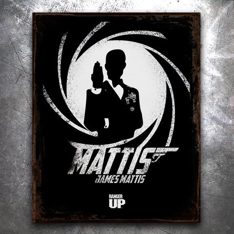 Mattis, James Mattis Tin Sign