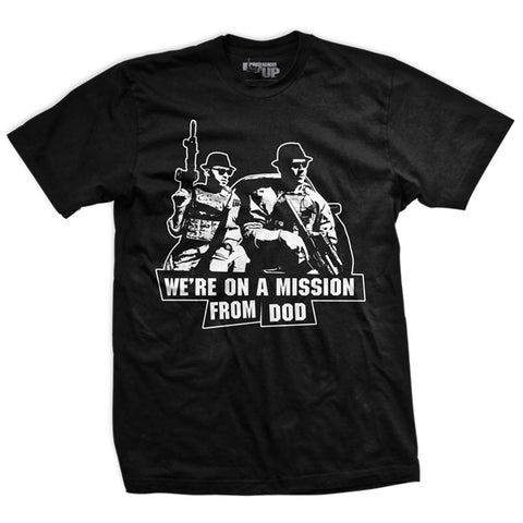 Mission from DoD Vintage-Fit T-Shirt