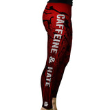 Women's Caffeine and Hate Leggings