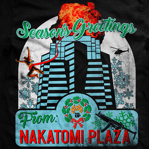 Nakatomi Plaza Vintage Fit T Shirt