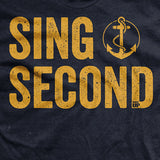 Navy Sings Second T-shirt