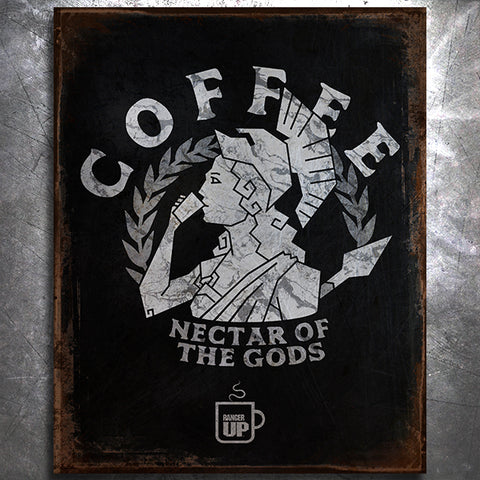 Athena Nectar of the Gods Tin Sign