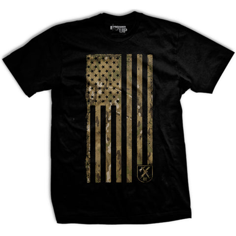 OCP Camo Flag T-Shirt