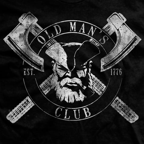 Old Man's Club Age for Weakness T-Shirt