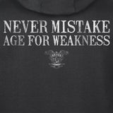 Old Man's Club Age For Weakness Hoodie