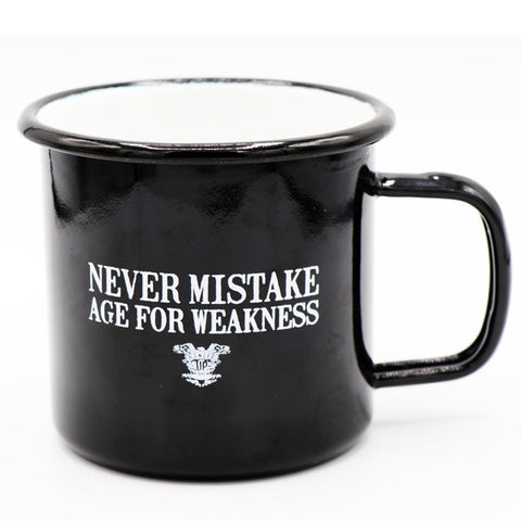 Old Man's Club - Age For Weakness Tin Mug