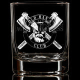 OMC Age for Weakness Whiskey Glass