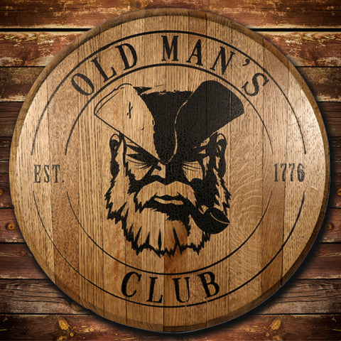 Old Man's Club Barrel Head