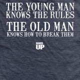 Old Man's Club Break The Rules T-Shirt