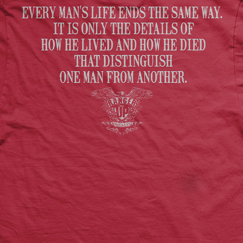 "Old Man's Club - ""Every Man's Life..."" T-Shirt"