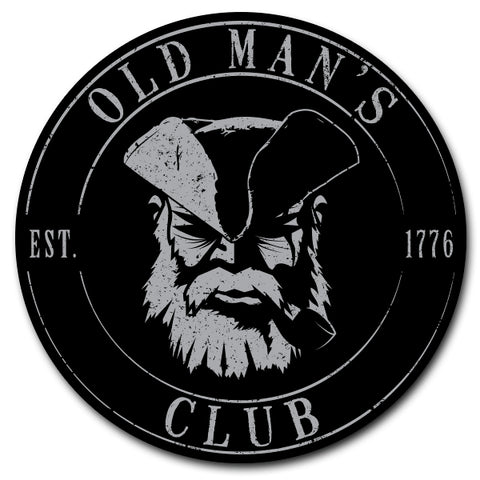 Old Man's Club Sticker