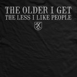Old Man's Club Older I Get T-Shirt