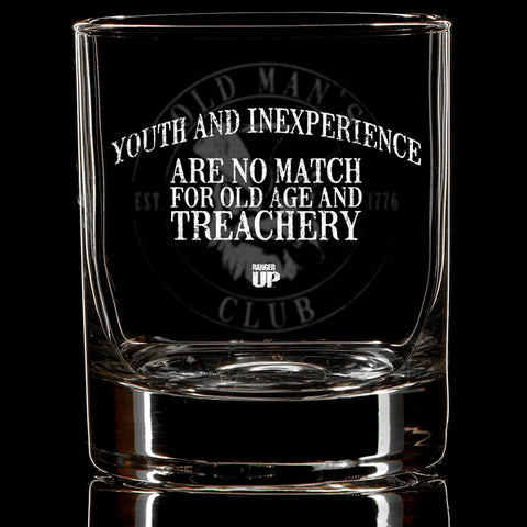 OMC Treachery Whiskey Glass