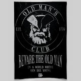 Old Man's Club Wall Tapestry