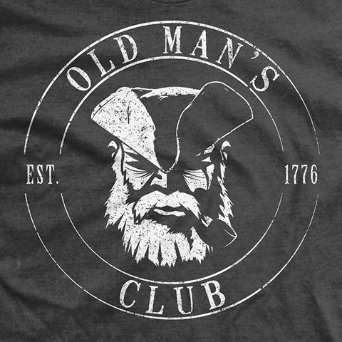 Old Man's Club Wisdom T-Shirt