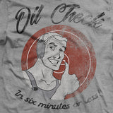 Oil Check Wrestling Vintage-Fit T-Shirt