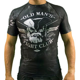 Old Man's Fight Club Rash Guard
