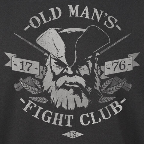 Old Man's Club Fight Club Hoodie