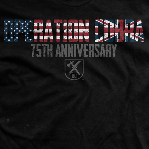 Operation Cobra 75th Anniversary T-Shirt
