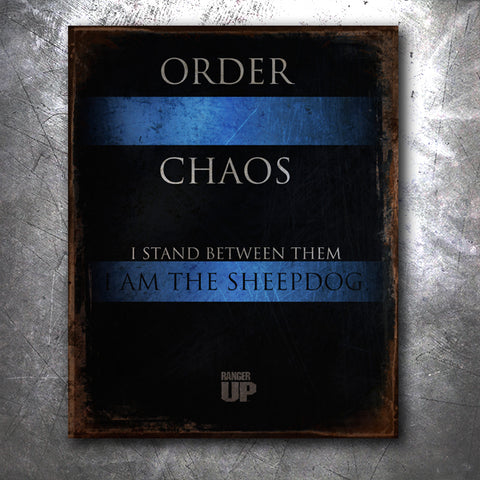Order and Chaos Tin Sign