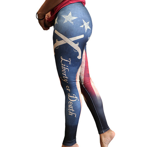 Patriot Skull Leggings
