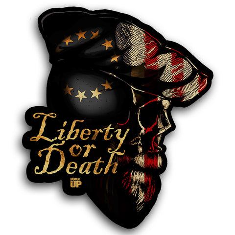Patriot Skull Sticker