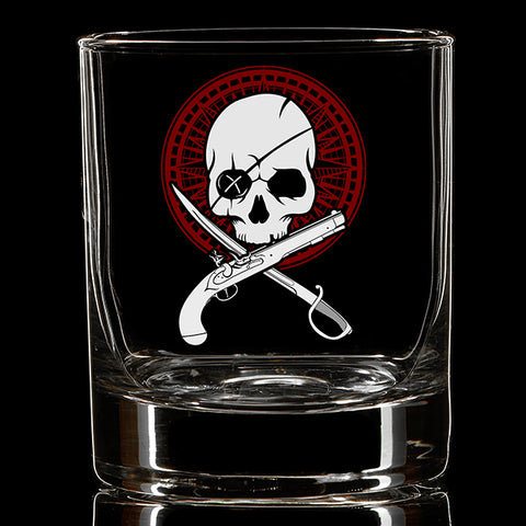 Powder Dry Whiskey Glass