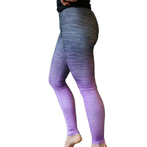 Lilac Ombre Leggings