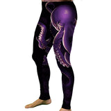 Men's Purple Octopus Meggings