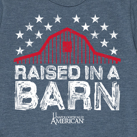 Kid's Raised in a Barn T-Shirt
