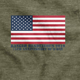 The Darby Project - Pointe Du Hoc - Ranger Rendezvous 2019 T-Shirt