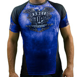 Blue Rank Rash Guard