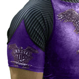 Purple Rank Rash Guard