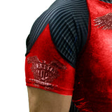 Red Rash Guard