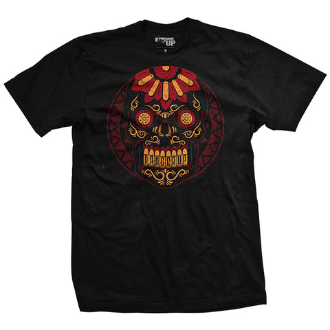 Halloween - Red Sugar Skull Shirt