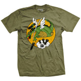Reluctant Dragon Bomber T-Shirt