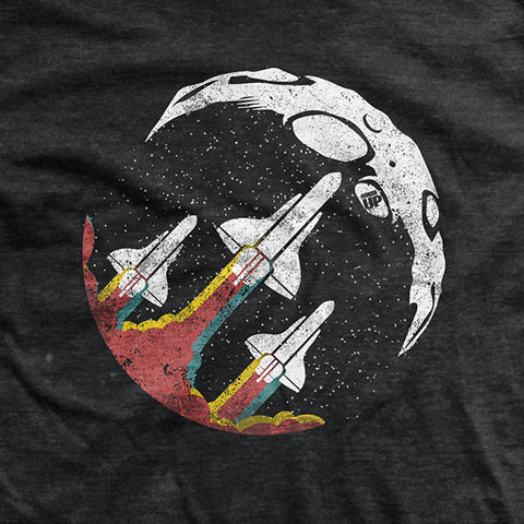 NASA Retro Rockets T-Shirt